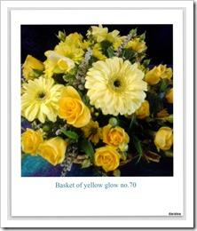 basket yellow glow.54-001